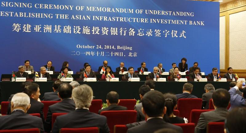 Trung-Trieu cang thang, TQ bac don gia nhap AIIB cua Trieu Tien