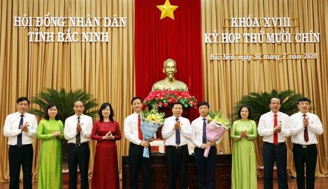 Biet gi ve 2 Pho chu tich tinh Bac Ninh vua duoc bo nhiem?