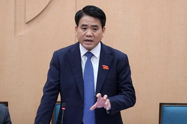 Chu tich Nguyen Duc Chung de cao trach nhiem neu guong cua can bo, dang vien
