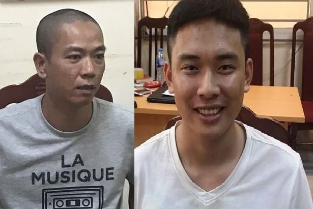 No sung cuop ngan hang BIDV: Da bat duoc 2 doi tuong