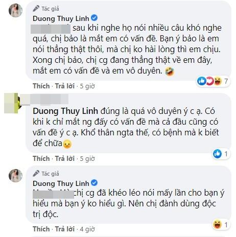 """Hoa hau Duong Thuy Linh tu mat ban than """"gop y vo duyen""""-Hinh-4"""