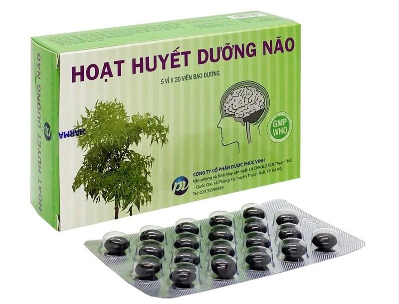 Thuoc hoat huyet duong nao cua Phuc Vinh bi thu hoi: Kem chat luong