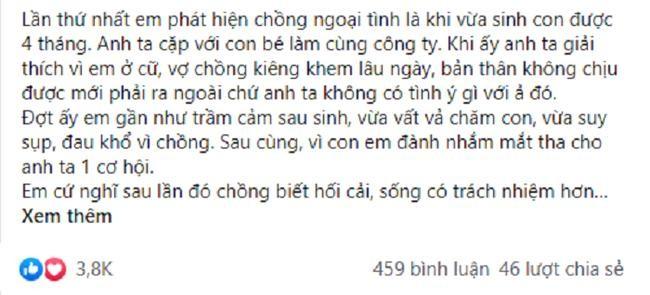 Chong ngoai tinh, vo cho di thoai mai roi