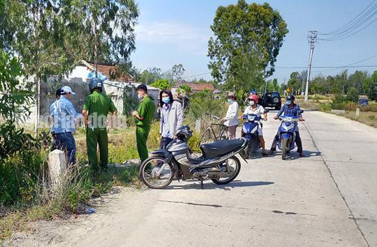 Quang Nam: Mau thuan tai cuoc nhau, 1 nguoi bi chem chet