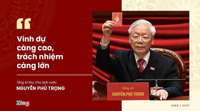 Phat ngon an tuong cua Tong Bi thu sau khi tai dac cu-Hinh-2