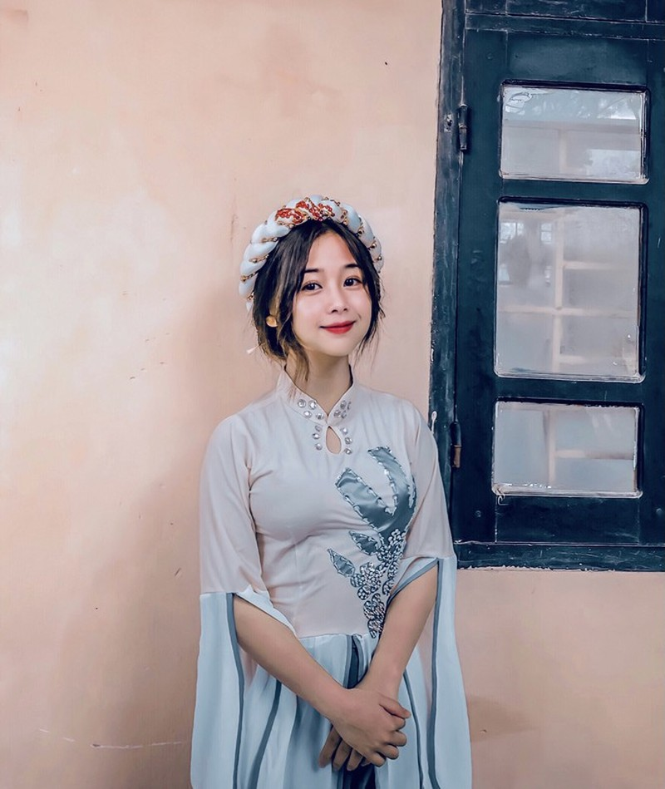 """Dep tinh khoi, nu sinh 2K duoc vi nhu """"ban sao"""" Quynh Anh Shyn-Hinh-7"""