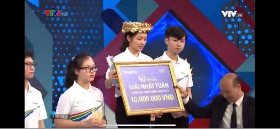 Co gai dau tien chien thang Duong len dinh Olympia 2021 la ai?
