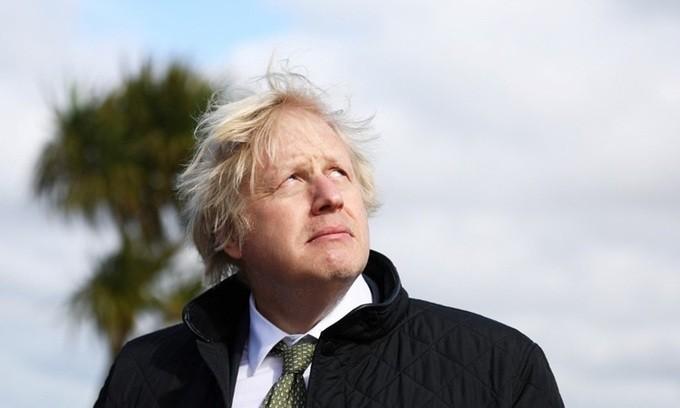 Thu tuong Anh Boris Johnson nhuong ghe du tang le Hoang than Philip