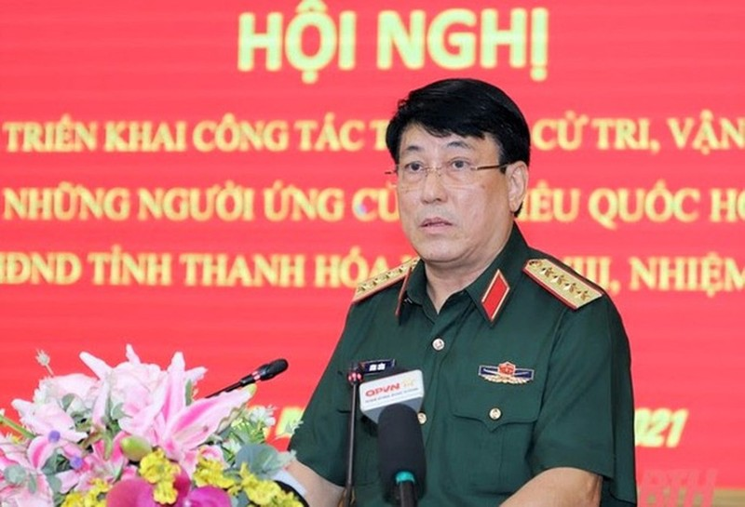 Dai tuong Luong Cuong ung cu dai bieu Quoc hoi tai Thanh Hoa