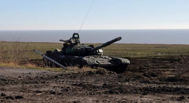 Ly khai Ukraine bat dau tan cong cac vung quanh Mariupol