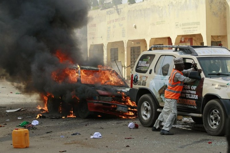 Danh bom o thanh pho Nigeria, 90 nguoi thuong vong