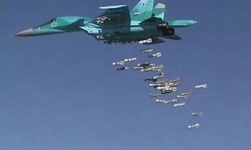 Su-34 Nga doi bom phien quan IS, 40 ten bo mang
