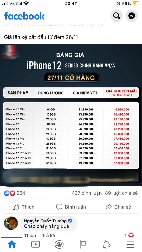 """Ngoc Trinh, Linh Ka noi tiep loat sao Viet """"hong"""" iPhone 12-Hinh-12"""