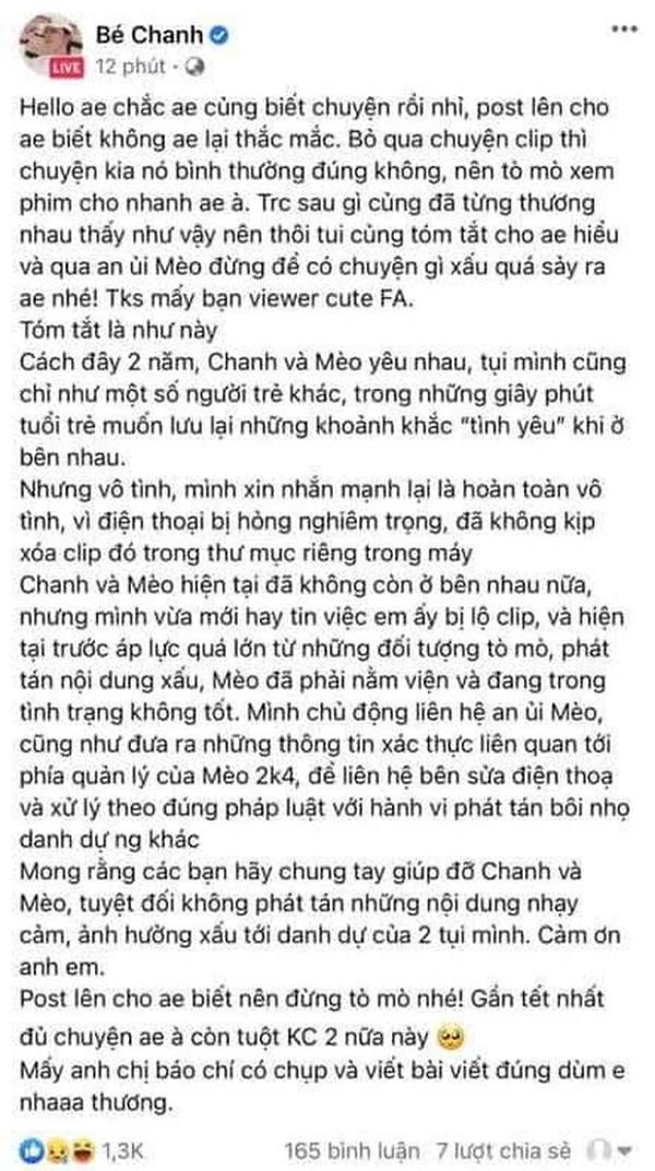 "Meo 2k4 chinh thuc len tieng, he lo ""nam chinh"" trong clip nong-Hinh-8"