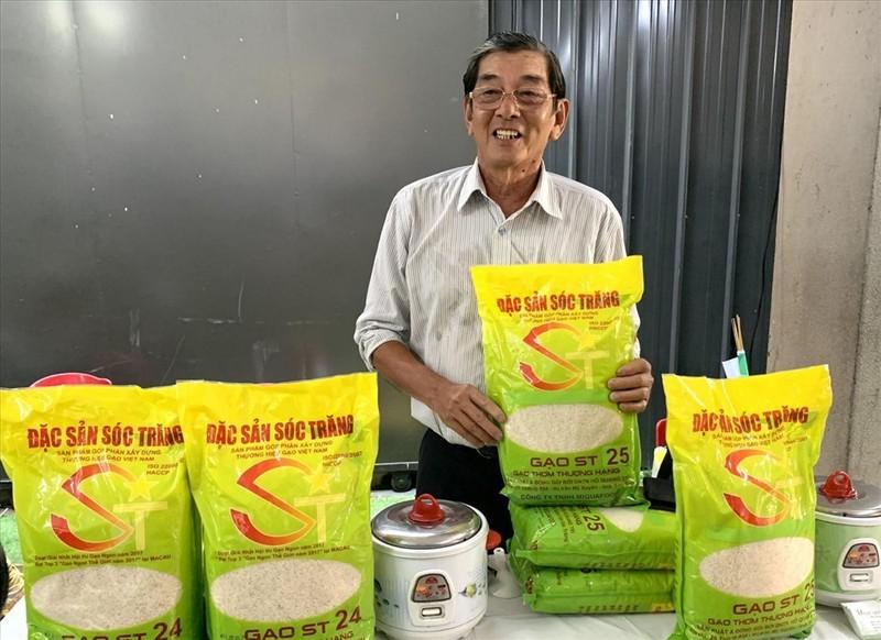 Khong the bao ho quyen dau hieu ST25 cho san pham gao