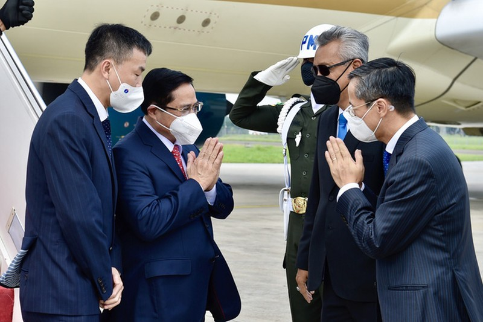 Thu tuong Pham Minh Chinh toi Indonesia, bat dau chuyen cong tac nuoc ngoai dau tien-Hinh-2