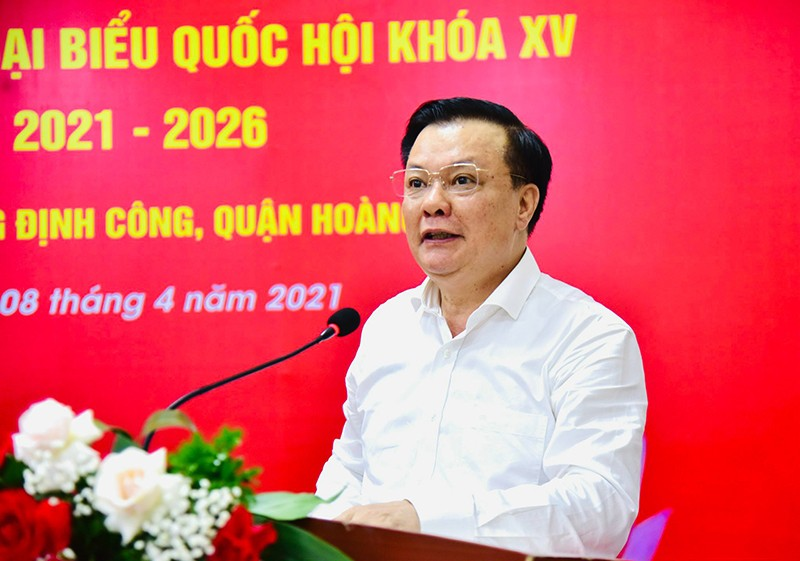 Bi thu Thanh uy Ha Noi Dinh Tien Dung: Noi co dich phai ra quan tong luc