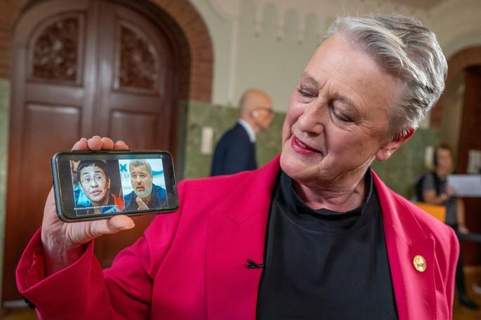 Nobel Hoa binh 2021 trao cho 2 nha bao