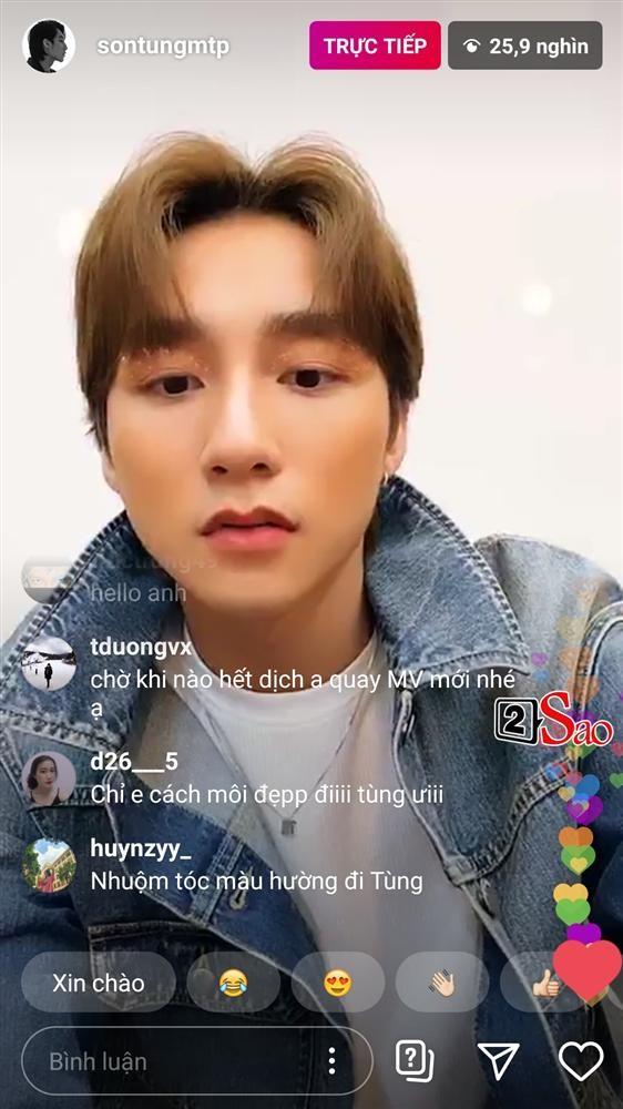 Son Tung bam nham hieu ung trang diem khi livestream khien fan nga ngua-Hinh-4