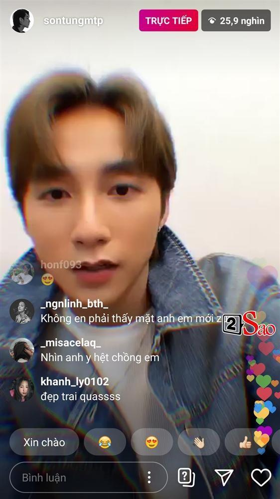 Son Tung bam nham hieu ung trang diem khi livestream khien fan nga ngua