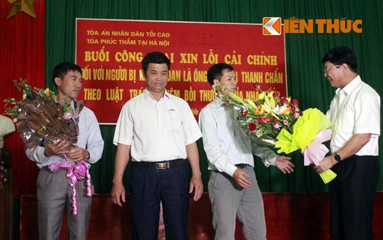 Vu an oan 10 nam: TAND Toi cao cong khai xin loi ong Chan