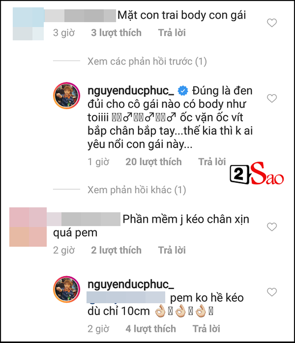 Duc Phuc di phoi nang nhung dan mang chi quan tam toi 'body het con gai' va chiec quan dui qua xinh-Hinh-2