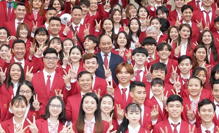 Thu tuong gap mat cac VDV dat thanh tich cao tai SEA Games 30-Hinh-7