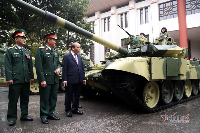 Bo doi xe tang, xe boc thep manh nhat Viet Nam tu hoi trong ngay dac biet-Hinh-7