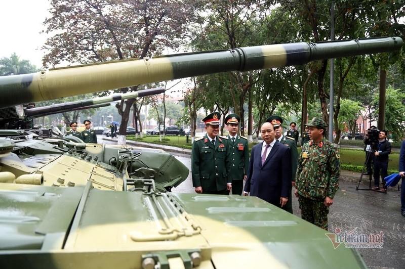 Bo doi xe tang, xe boc thep manh nhat Viet Nam tu hoi trong ngay dac biet-Hinh-8