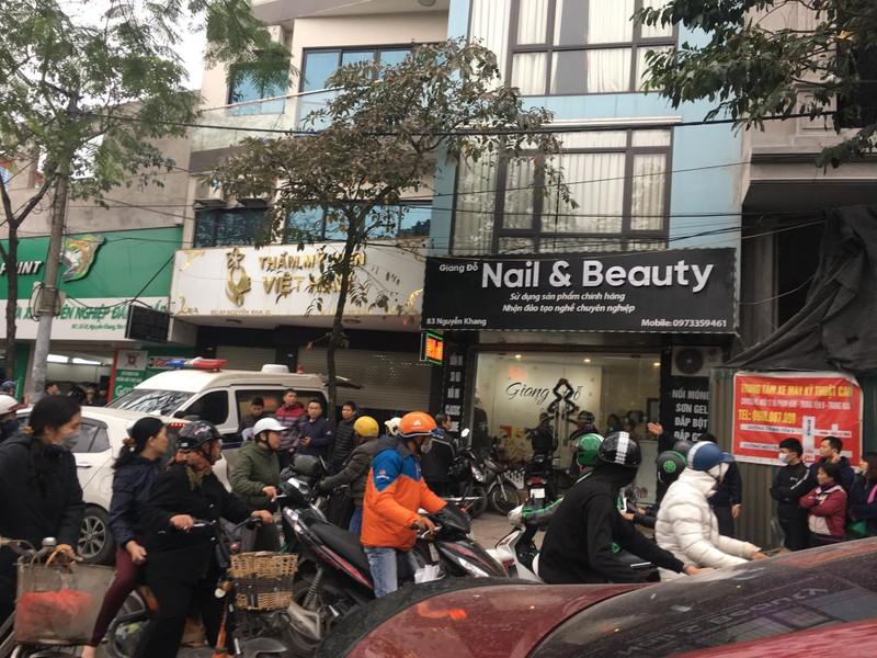 Khach hang tu vong tai Tham my vien Viet Han: Cong an vao cuoc