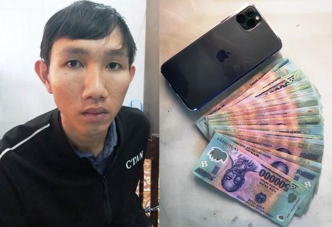 """""""Doc chieu"""" lua lien tinh hang chuc iPhone sang xin cua 9X Binh Dinh"""