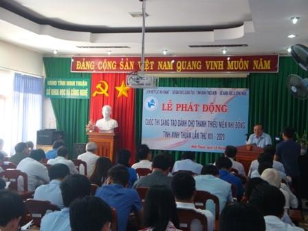 Ninh Thuan: Phat dong Cuoc thi Sang tao lan thu XIV