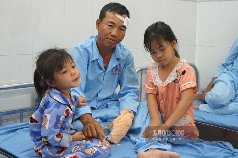 Sap cong trinh o Dong Nai: Suc khoe 14 nan nhan the nao?