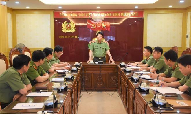 Tan Giam doc Cong an tinh Thanh Hoa la ai?