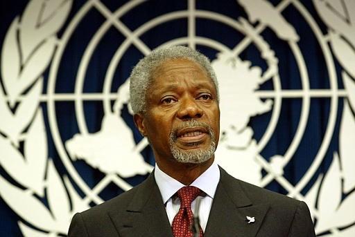 Cuu tong thu ky Lien Hop Quoc Kofi Annan qua doi o tuoi 80