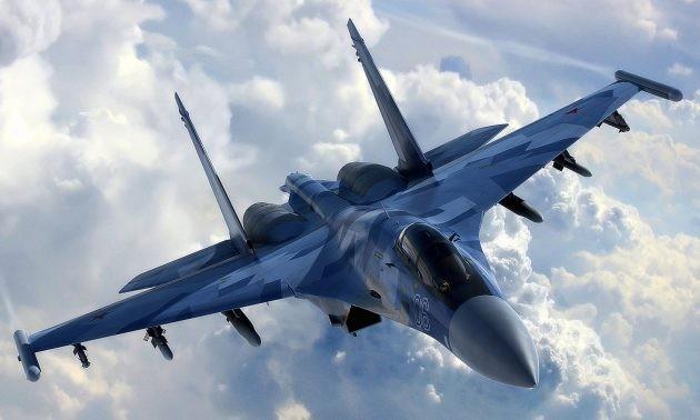 Phi cong Su-35 Nga ke khoanh khac khoa muc tieu F-22 o Syria