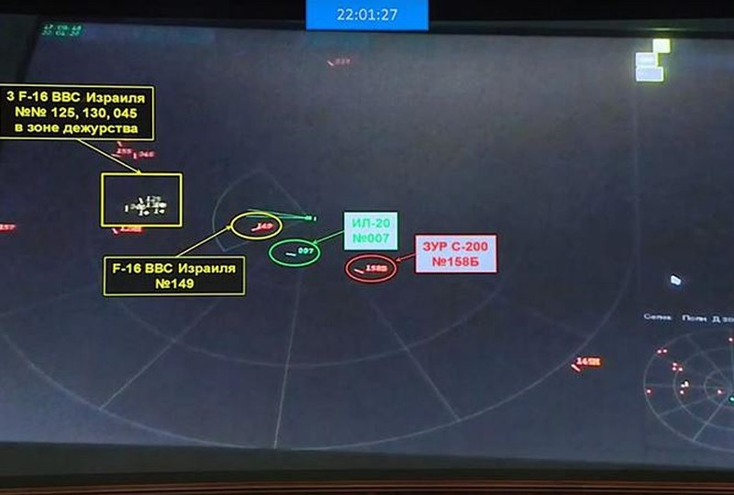 Vu Il-20 bi ban nham: 'Rong lua' S-400 chung minh loi thuoc ve Israel