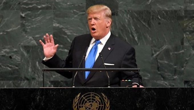 Bai phat bieu gay choang cua ong Trump truoc Lien Hop Quoc