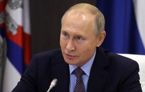 Tong thong Putin lan dau len tieng giua cang thang Nga-Ukraine