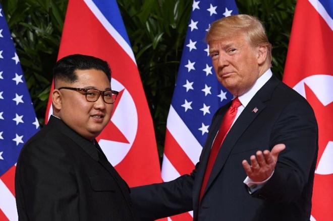 Ong Trump va ong Kim Jong Un se co cuoc gap mot - mot tai Ha Noi