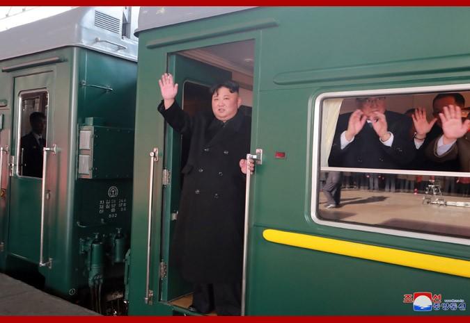 Chu tich Trieu Tien Kim Jong-un roi Binh Nhuong den hoi nghi My-Trieu
