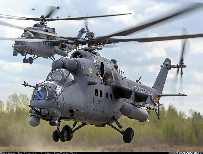 Mi-35MV co manh hon sau khi duoc nang cap?