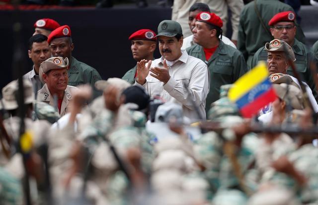 Tong thong Maduro ra lenh tuyen them 1 trieu dan quan Venezuela