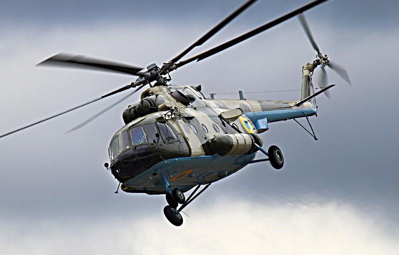 "Mi-8 Ukraine ""gay canh"" toan bo phi hanh doan thiet mang"