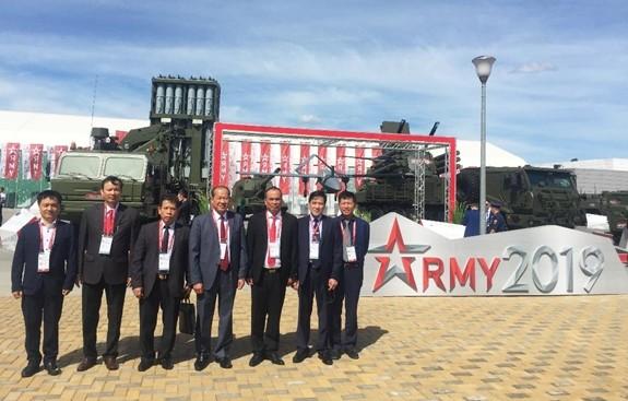 "Viet Nam tham du Dien dan ky thuat quan su quoc te ""Army-2019"""