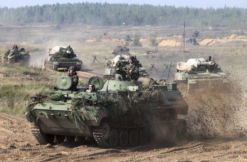 Nga len lich tap tran xe tang voi Viet Nam trong nam 2021