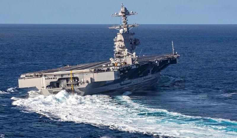 My phat met voi sieu tau san bay tau san bay USS Gerald R. Ford-Hinh-11