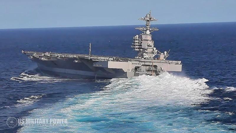 My phat met voi sieu tau san bay tau san bay USS Gerald R. Ford-Hinh-12