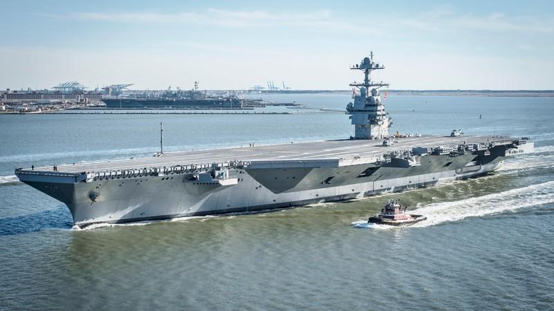 My phat met voi sieu tau san bay tau san bay USS Gerald R. Ford-Hinh-3