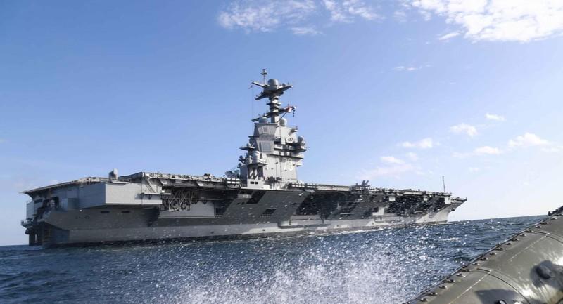 My phat met voi sieu tau san bay tau san bay USS Gerald R. Ford-Hinh-4
